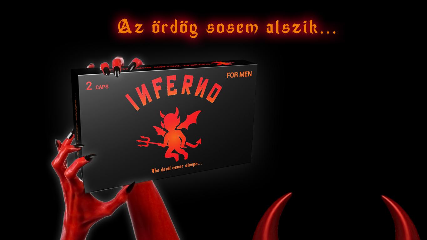 Inferno for men az ördög sosem alszik